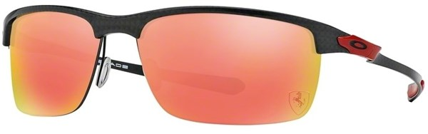 Image of Oakley Carbon Blade Scuderia Ferrari Collection Polarized Sunglasses