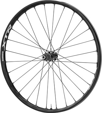 Image of Shimano XTR Mountain Bike Wheel, 12 x 142mm, 27.5 (650b) Carbon Clincher
