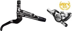Shimano BR-M9000 XTR bled I-spec-II ready brake lever / Post mount calliper - rear