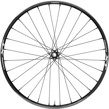 Image of Shimano XT XC 650b 15 x 100 mm Axle Clincher Front Wheel - WHM8000