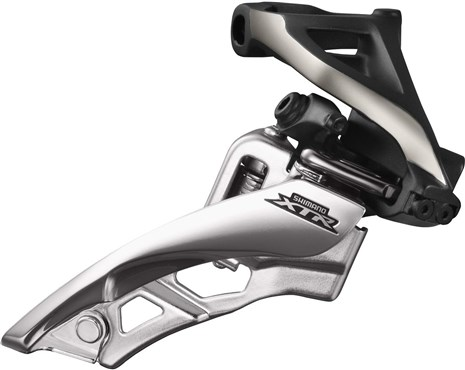 Image of Shimano FD-M9000-H XTR Triple Front Derailleur - Side Swing - Side Pull - High Clamp