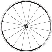 Product image for Shimano WH-RS610-TL Wheel - Tubeless Ready Clincher 24 mm - Black - Front