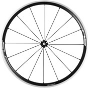 Product image for Shimano WH-RS330 Wheel, Clincher 30 mm, Black, Front
