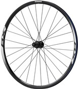 Product image for Shimano WH-RX010 Disc Road Wheel, Clincher 24 mm, 11-Speed, Black, Rear