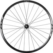Product image for Shimano WH-RX010 Disc Road Wheel, Clincher 24 mm, Black, Front