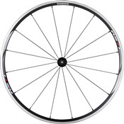 Product image for Shimano WH-RS11 Wheel - Clincher 24 mm - Black - Front