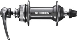 Product image for Shimano HB-CX75 Front Hub For Centre-Lock Disc, 28 Hole, Grey