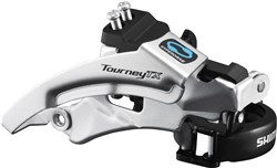 Shimano FD-TX800 Tourney TX Front Derailleur, Top Swing, Dual Pull