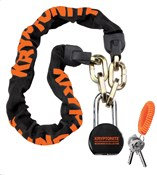 Product image for Kryptonite Messenger Chain & Molly Padlock - 100cm