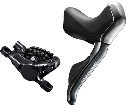 Image of Shimano ST-R785 DI2 Hydraulic Disc Brake Di2 E-Tube STI Set - With RS785 Callipers - Pair