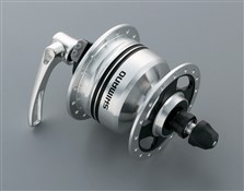 Shimano DH-3N80 6v 3.0w Quick Release Dynamo Front Hub For Use With Rim Brakes - 32h