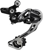 Shimano RD-M610 Deore 10-speed Shadow Design Rear Derailleur - SGS - Black