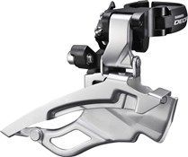 Shimano FD-T611 Deore Front Derailleur - Down-Swing - Dual-Pull - Multi Fit - 63-66 Deg