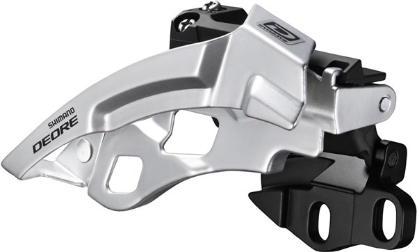 Shimano FD-M610 Deore 10-Speed Triple Front Derailleur - Dual-Pull - E-Type