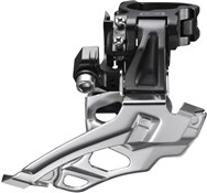 Shimano FD-M616 Deore 10-Speed Double Front Derailleur - Conventional Swing - Top-Pull