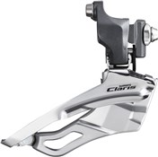 Product image for Shimano FD-2403 Claris 8-Speed Front Derailleur - Triple Braze-On