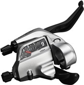 Product image for Shimano ST-T4000 Alivio 3-Speed Tap Fire Plus For V-Brake - 3 Finger