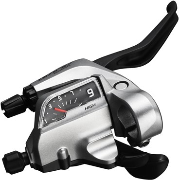 Image of Shimano ST-T4000 Alivio 3-Speed Tap Fire Plus For V-Brake - 3 Finger