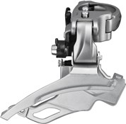 Product image for Shimano FD-T4000 Alivio 9-Speed Front Derailleur - Conventional Swing - 40T - 63-66 Degrees