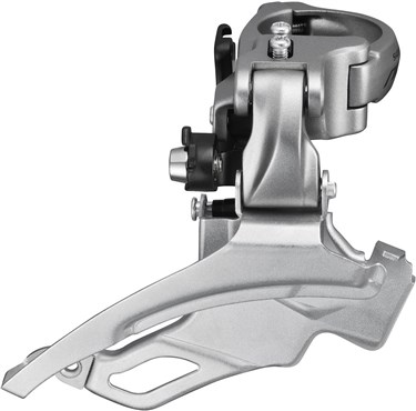 Image of Shimano FD-T4000 Alivio 9-Speed Front Derailleur - Conventional Swing - 40T - 63-66 Degrees