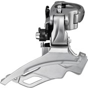 Shimano FD-T4000 Alivio 9-Speed Front Derailleur - Conventional Swing - 40T - 63-66 Degrees