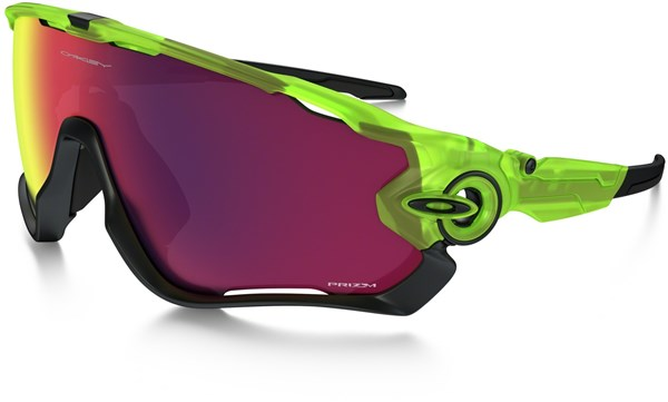 Oakley Jawbreaker Uranium Collection Prizm Road Cycling Sunglasses