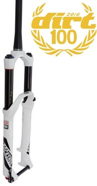 "RockShox Pike RCT3 - 26"" MaxleLite15 - Dual Position Air 160 - Crown Adj - Disc 2016 - White"