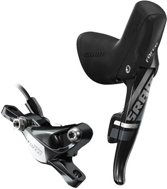 Image of SRAM Force22 Shift/Hydraulic Disc Brake Yaw Front Shift Rear Brake With Direct Mount Hardware