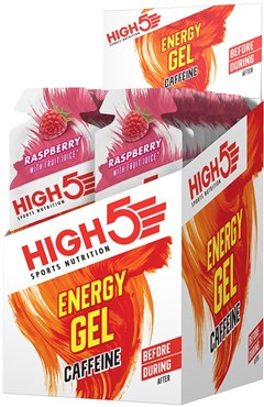 Image of High5 Energy Gel with Caffeine - 38g x Box of 20