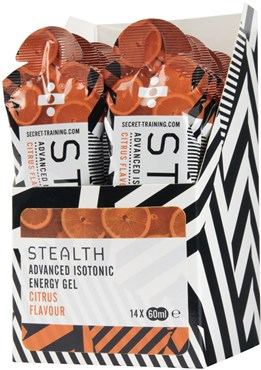 Secret Training Stealth Isotonic Energy Gel - 60ml x Box 14