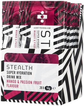 Image of Secret Training Stealth Super Hydration Drink Mix Powder - 14g x Box of 20