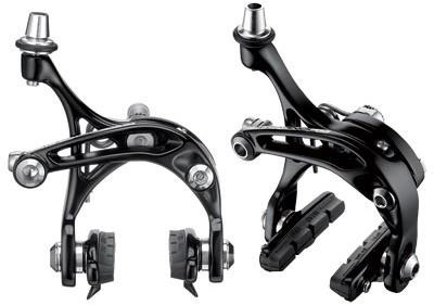Image of Campagnolo Skeleton Dual Pivot Black Brake Calipers