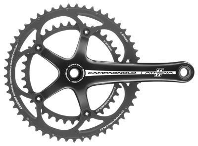 Image of Campagnolo Athena P-T Black 11x Chainsets