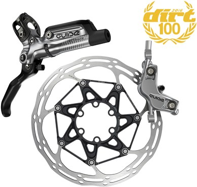 SRAM Guide Ultimate Front Disc Brake - Ti Hardware (Rotor/Mount Sold Separately)