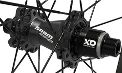 SRAM Roam 40 26 inch UST Clincher Rear Wheel - Tubeless Compatible - XD Driver Body for SRAM 11 speed
