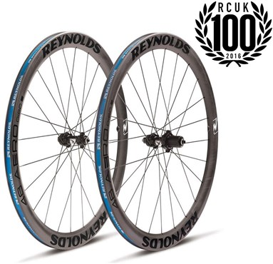 Image of Reynolds 46 Aero Disc Clincher Road Wheelset
