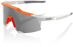 100% SpeedCraft Long Lens Sport Sunglasses - Smoke Lens