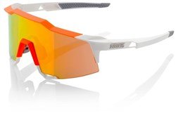 100% SpeedCraft Sport Long Lens Sunglasses -  Mirror Lens