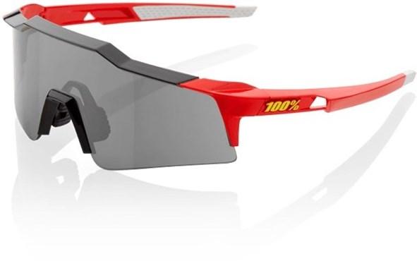 100% SpeedCraft Short Lens Sport Sunglasses - Smoke Lens