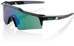 100% SpeedCraft Short Lens Sport Sunglasses - Mirror Lens