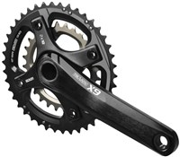 Product image for SRAM X9 Fat Bike GXP 100mm Spindle 10sp Crank (GXP Cups Not Included)