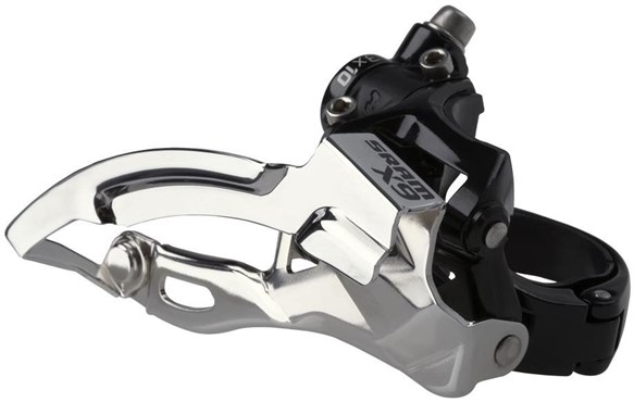 Image of SRAM X9 Front Derailleur - 3x10 High Clamp