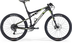 Merida Ninety-Six 7 Team Mountain Bike 2016 - Full Suspension MTB
