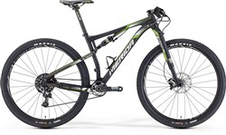 Merida Ninety-Six 9 Team Mountain Bike 2016 - Full Suspension MTB