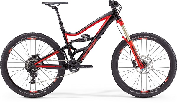 Image of Merida One-Sixty 600 Mountain Bike 2016 - Full Suspension MTB