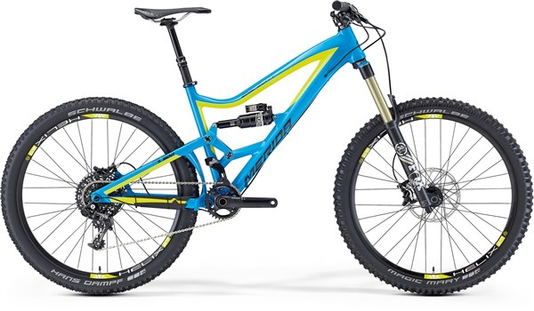 Image of Merida One-Sixty 900 Mountain Bike 2016 - Full Suspension MTB