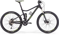 Merida One-Twenty 500 Mountain Bike 2016 - Full Suspension MTB