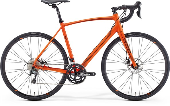 Image of Merida Ride Disc 300 2016 - Road Bike