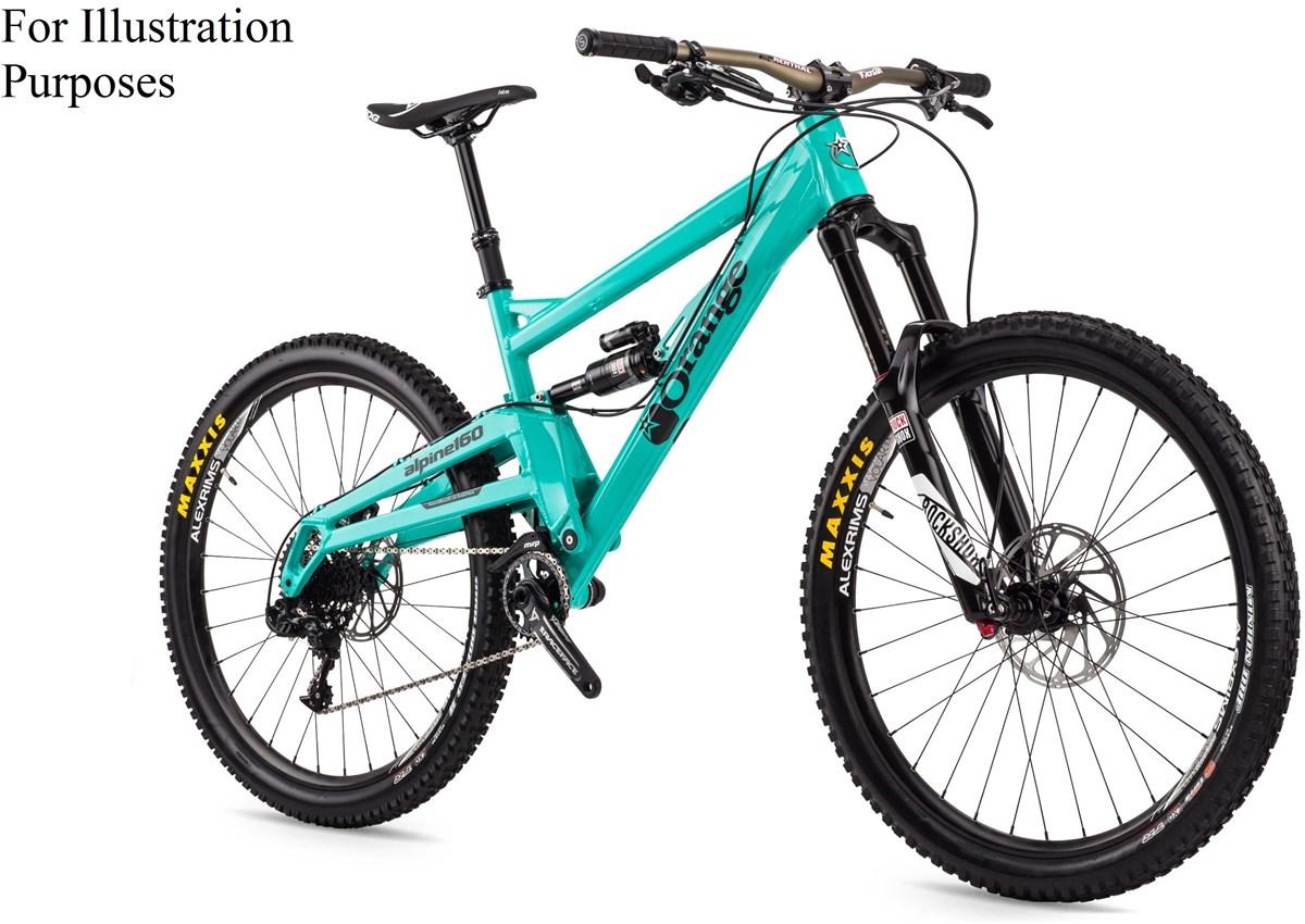 Buy Orange Alpine 160 Rs Mountain Bike 2016 Full Suspension Mtb At Tredz Bikes 3 With