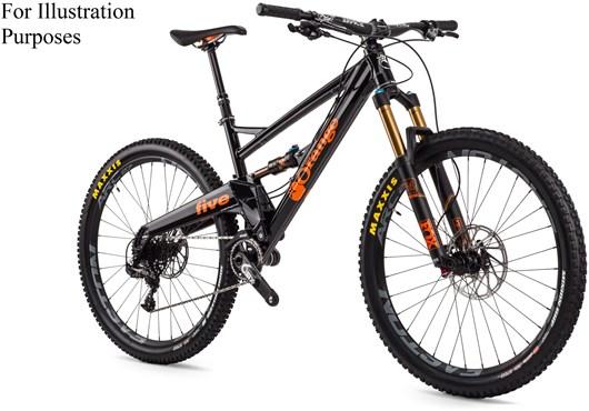 Orange Five Factory Mountain Bike 2016 Full Suspension Mtb At Tredz Bikes